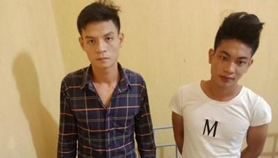 Vĩnh Phúc: Tóm gọn 2 đối tượng cướp giật tài sản để 'chơi' ma túy
