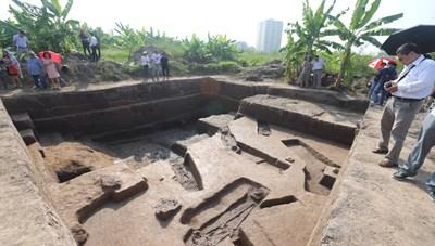 Khai quật cụm di chỉ Vườn Chuối: Phát hiện nhiều tầng văn hóa
