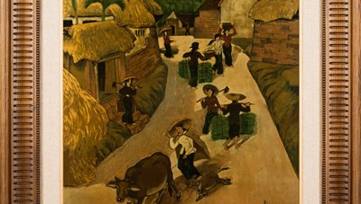 Triển lãm tranh sơn mài có nhiều tác giả tham gia nhất