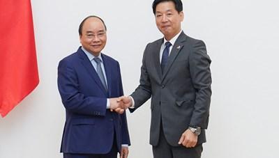 Thủ tướng mong muốn Aeon đẩy mạnh xuất khẩu hàng hóa Việt Nam