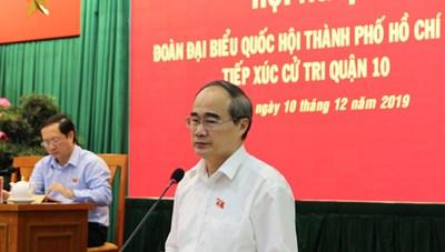 Đoàn Đại biểu Quốc hội THCM tiếp xúc cử tri quận 10