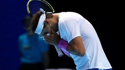 Rafael Nadal 'nếm trái đắng' ngay trận ra quân ATP Finals 2019
