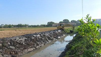 Dự án cải tạo kênh mương thủy lợi ở Bắc Ninh:  Chây ỳ khắc phục xử lý sai phạm