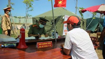 Quảng Nam: Một người nước ngoài trốn khỏi khu cách ly tập trung
