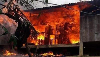 Quảng Nam: Cháy nhà sàn gây thiệt hơn 200 triệu đồng