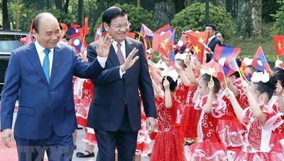 Không ngừng phát triển mối quan hệ hữu nghị vĩ đại Việt Nam - Lào