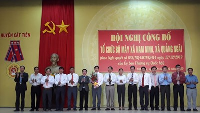 Cát Tiên (Lâm Đồng): Các xã mới sáp nhập chính thức đi vào hoạt động từ ngày 1/3