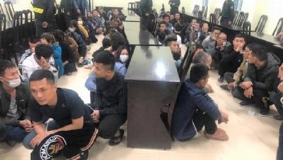 Vụ bắt sới bạc 'khủng' tại Nghệ An: Khởi tố 51 đối tượng