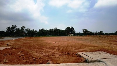 Kiểm tra, rà soát các dự án san lấp ruộng để phân lô bán nền