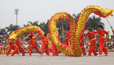 Liên hoan múa Rồng Hà Nội 2019
