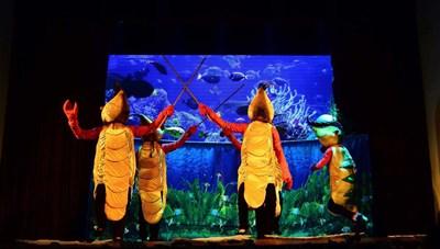 Nhà hát múa rối Thăng Long chào mừng ngày Quốc tế Thiếu nhi