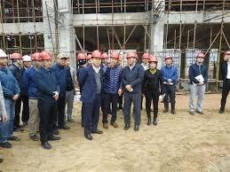 Kiểm tra tiến độ xây dựng dự án nhà máy đốt rác tại Sóc Sơn