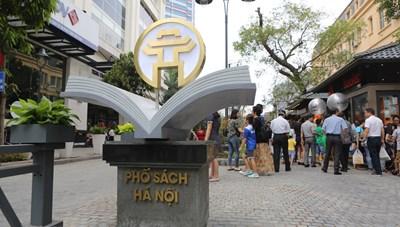 Tạm dừng hoạt động phố sách Hà Nội