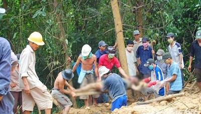 Quảng Nam: Những cái chết bất ngờ do sạt lở núi