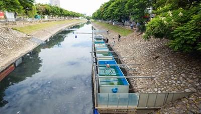 Tỷ lệ thu gom, xử lý nước thải đô thị chỉ đạt khoảng 13%