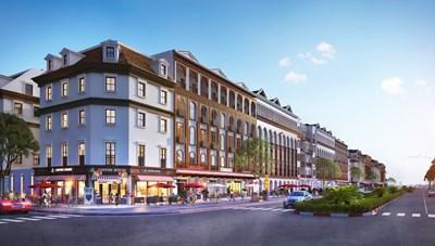 Sun Group ra mắt dòng shophouse đẳng cấp kiến trúc châu Phi và châu Úc tại Hạ Long