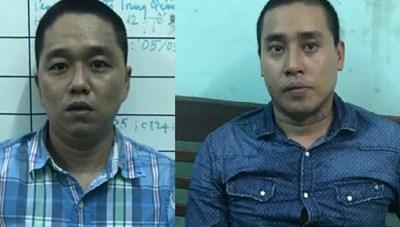 Đà Nẵng: Hai kẻ trộm tượng Phật Di lặc ra đầu thú