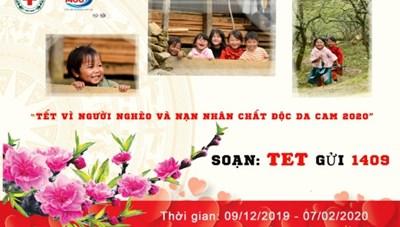 Phát động nhắn tin 'Tết vì người nghèo và nạn nhân chất độc da cam' 2020