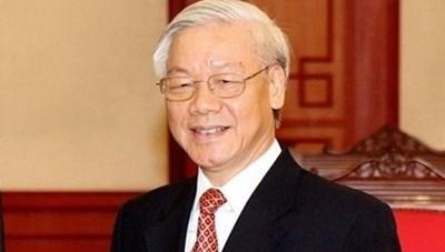 Tổng Bí thư, Chủ tịch nước gửi điện mừng tới Tổng thống Kyrgystan