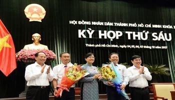 TP Hồ Chí Minh bầu bổ sung 2 Ủy viên UBND