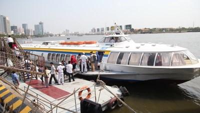 Tuyến tàu cao tốc TP HCM-Vũng Tàu hoạt động trở lại