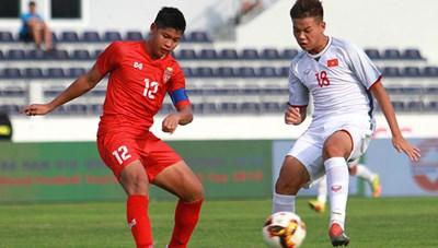 U15 Việt Nam ngược dòng đánh bại U15 Myanmar