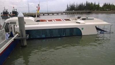 Xác định nguyên nhân chìm tàu cao tốc tại Cần Giờ