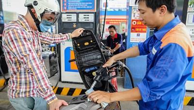 Giá xăng, dầu đồng loạt giảm sâu