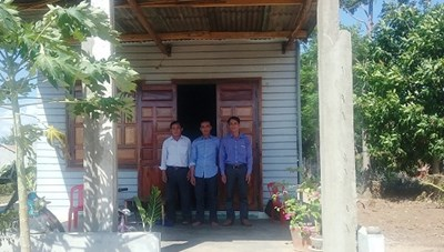 Xóa nhà tạm cho 48 hộ nghèo tại Phú Yên