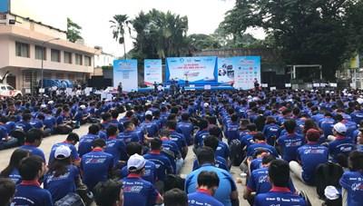 20.000 lượt sinh viên tình nguyện tham gia chương trình 'Tiếp sức mùa thi 2019'