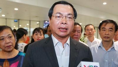 Bộ Công Thương thông tin về việc xin cấp thẻ an ninh cho ông Vũ Huy Hoàng