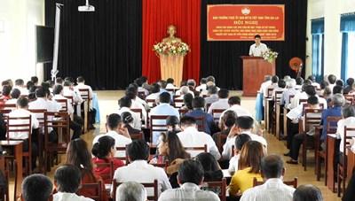 Gia Lai: Tuyên truyền nâng cao trách nhiệm người Việt Nam ưu tiên dùng hàng Việt Nam