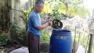 Giảm ô nhiễm môi trường từ phân loại rác