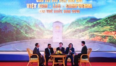 Giao lưu hữu nghị biên giới Việt-Lào-Campuchia