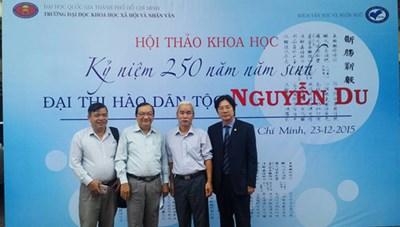 Hội thảo kỷ niệm 250 năm ngày sinh Đại thi hào Nguyễn Du
