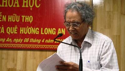 Luật sư Nguyễn Hữu Thọ với việc xuất bản báo ở Tổng hành dinh kháng chiến