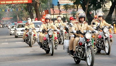 Mở cao điểm bảo đảm trật tự an toàn giao thông dịp Quốc khánh
