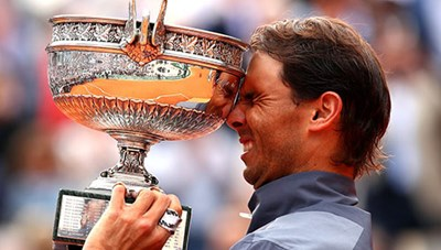 Nadal lần thứ 12 vô địch Roland Garros