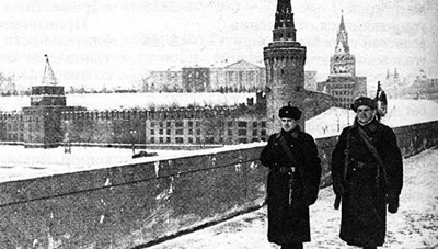 Nga từng tàng hình Điện Kremlin trước 'mưa' hỏa lực của phát xít Đức thế nào?