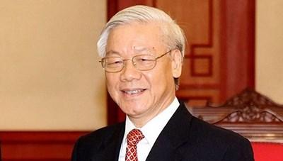 Tổng Bí thư, Chủ tịch nước Nguyễn Phú Trọng gửi điện mừng Quốc khánh các nước
