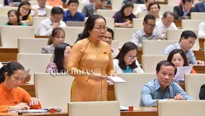 Phó Thủ tướng trả lời chất vấn về tinh giản biên chế trong lĩnh vực giáo dục