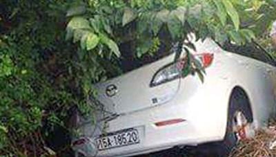 Ô tô mất lái tông chết người buôn vịt