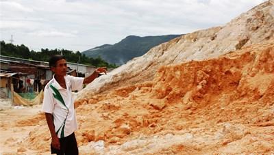 Quảng Nam: Sạt lở núi đe doạ khu tái định cư Gò Hiu