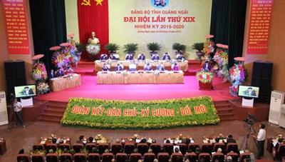 Quảng Ngãi: Ông Lê Viết Chữ, tái đắc cử chức danh Bí thư Tỉnh ủy, nhiệm kỳ 2015-2020