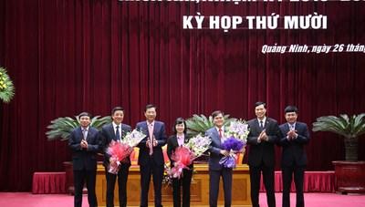 Quảng Ninh bầu bổ sung Phó Chủ tịch UBND và 2 Phó Chủ tịch HĐND