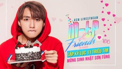 Sơn Tùng M-TP hẹn fan cùng vui sinh nhật vào đúng 12h đêm