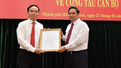 Thành phố Hồ Chí Minh có tân Phó Bí thư Thường trực sau khi ông Tất Thành Cang bị kỷ luật