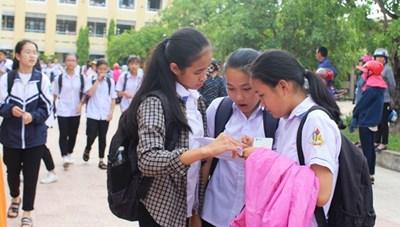 Thí sinh thi vào lớp 10 ở Quảng Bình phải thi lại môn Văn