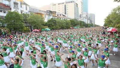 TP Hồ Chí Minh: Gần 7.000 người tham gia Ngày chạy Olympic vì sức khỏe toàn dân