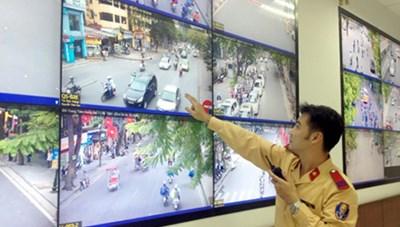 Từ 1/8, trích xuất ghi âm, ghi hình trên đường để xử phạt giao thông
